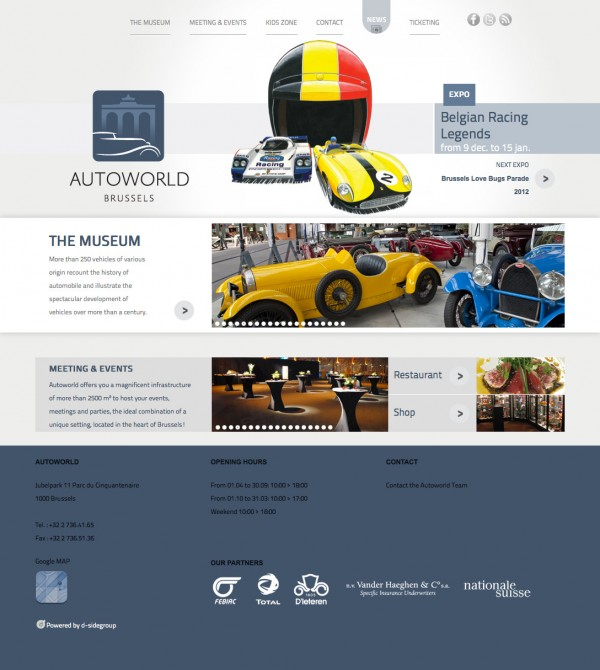 Autoworld Website