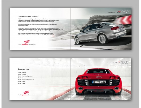 Audi Sports Car Experience Invitation Franchorchamps