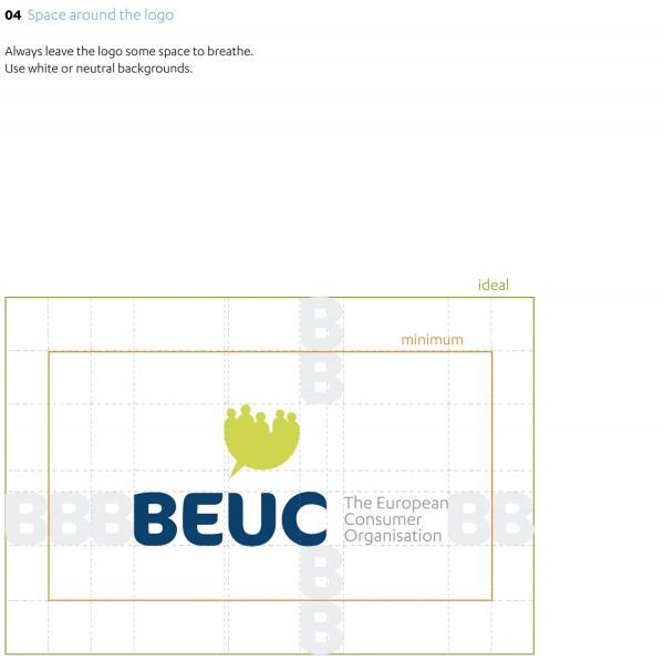 Beuc Corporate Identity Logo Rules