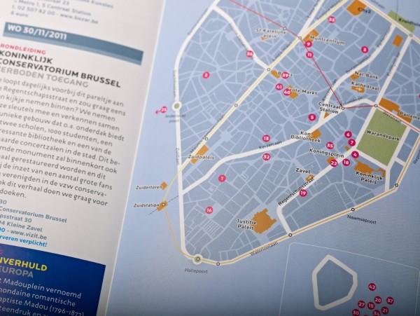 Broodje Brussel Map