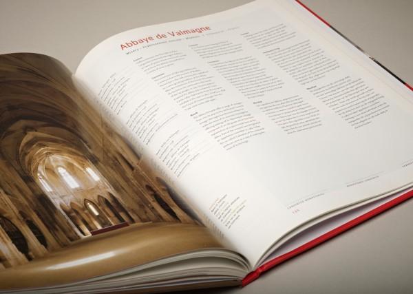 Converted Monasteries Book Design Spread