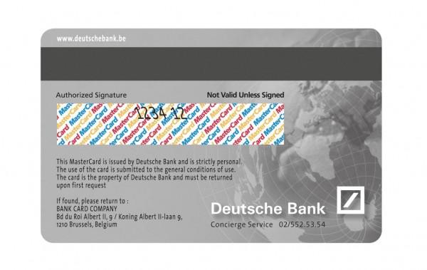 Deutsche Bank Titanium Credit Card Design (2)