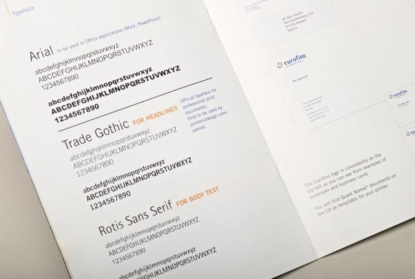 Eurofins Typography