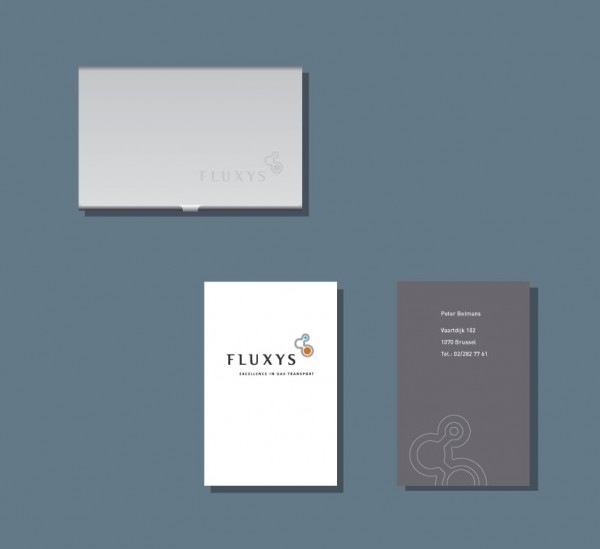 Fluxys Stationery Business Cards