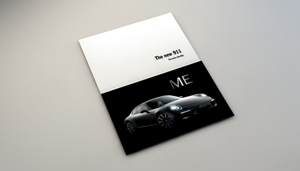 Porsche Print Exelmans Graphics Visual Communication