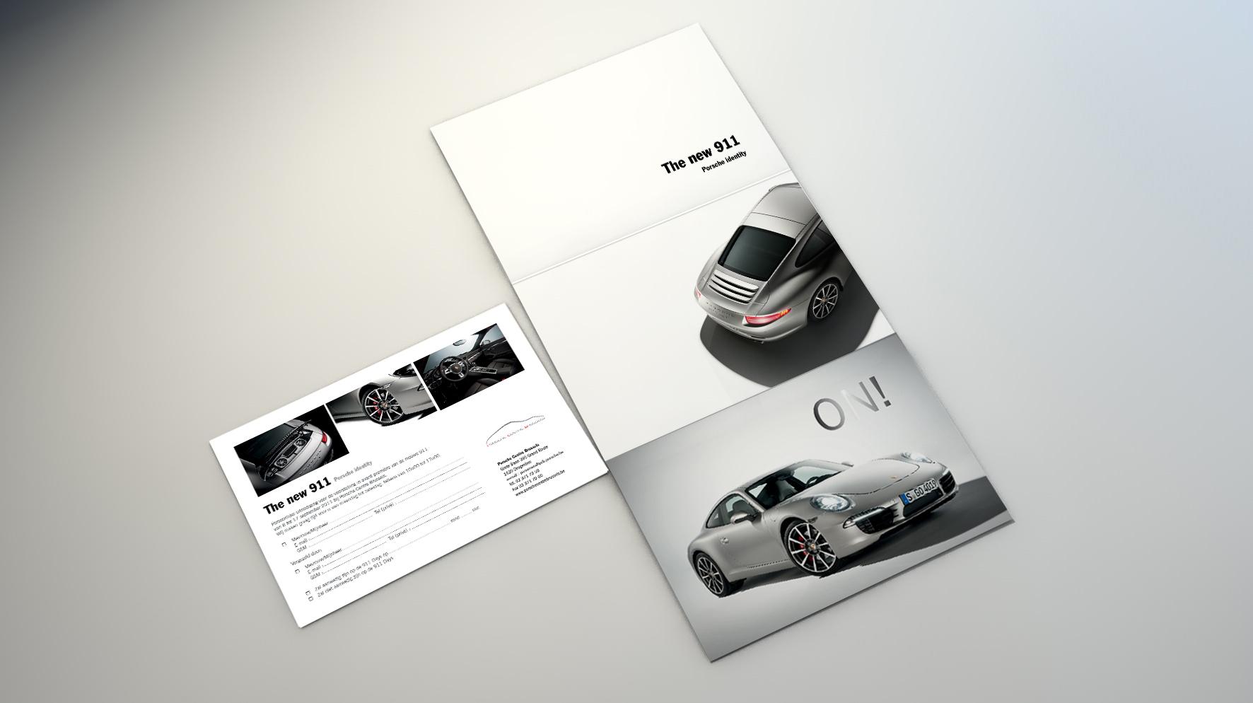 Porsche Print Exelmans Graphics Visual Communication