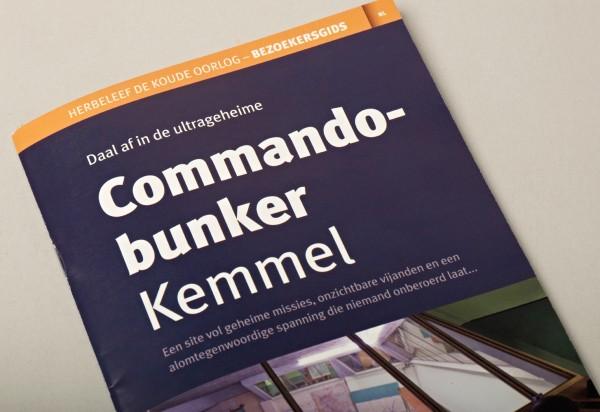 Royal Army Museum Command Bunker Kemmel Brochure