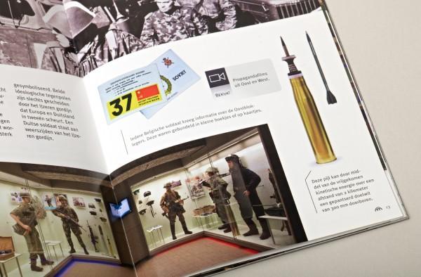 Royal Army Museum Command Bunker Kemmel Brochure Detail