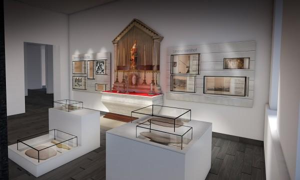 Damiaan Museum tremelo-graphic-design-3d-omgevingen