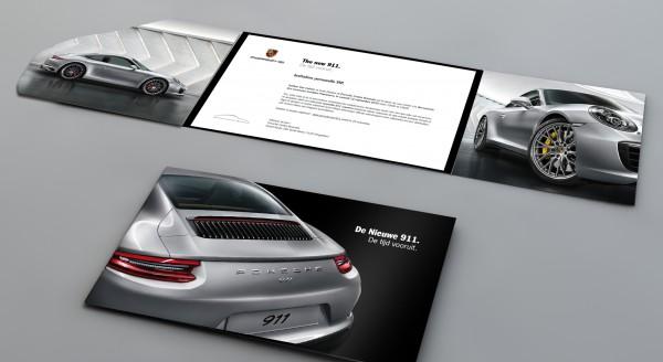 Porsche 911 Invitation Print 2015